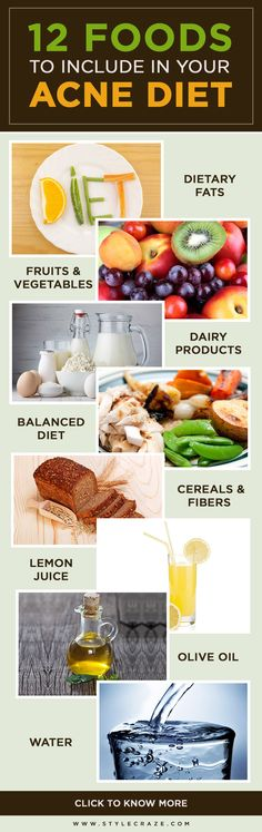 Now you can say good bye to #acne by following a right food diet for acne. Here are top 12 foods to include in your #acnediet.