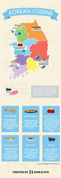 Korean Cuisine by Region - Dom & Hyo