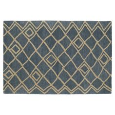 Check out this item at One Kings Lane! Famke Rug, Blue