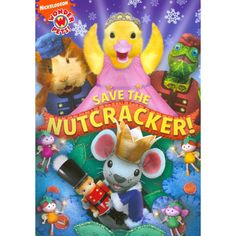 Wonder Pets:save the Nutcracker - DVD Region 1 for Like the Wonder Pets:save the Nutcracker - DVD Region Get it at Classroom Pets, Wonder Pets, Nick Jr, Holiday Movie, Family Movies, Christmas Books, Christmas Gifts, Childhood Memories, Cool Things To Buy