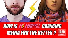 How is Ms. Marvel Changing Media for the Better? | Idea Channel | PBS Digital Studios - Media - Representation