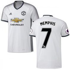 ab94e4beca1 Manchester United 16-17 Memphis Depay 7 3 trøje Kort ærmer