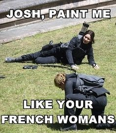 Paint me like a your french woman