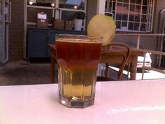 rooibos apple iced tea.yummy.salvation cafe