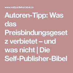 Autoren-Tipp: Was das Preisbindungsgesetz verbietet – und was nicht | Die Self-Publisher-Bibel