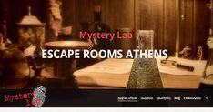 Επισκεφτείτε και εσείς το Mystery Lab. Είναι από τα ωραιότερα Escape Rooms Athens. Διαθέτει τρία δωμάτια απόδρασης και βρίσκεται στο Περιστέρι. 2130378470 Escape Games, Escape Room, Blog, Blogging