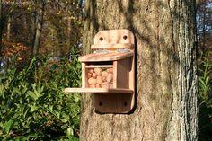 Bauanleitung: Eichhörnchen-Futterkasten bei Westfalia Versand Deutschland