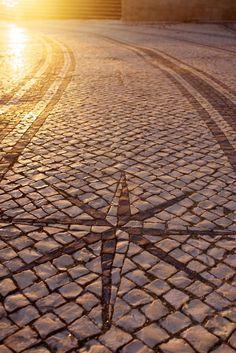 Calçada à Portuguesa (Portuguese sidewalk)