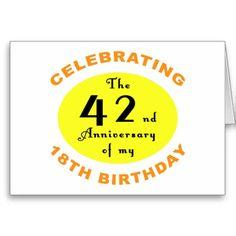 60th Birthday Gag Gift Greeting Card