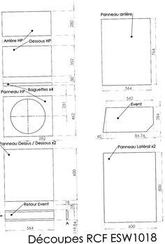 Construction Caisson pr petite sono - forum Construction d'Enceintes - Audiofanzine