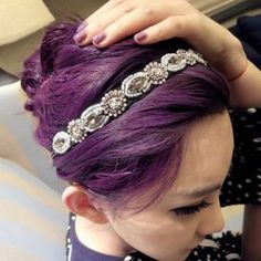 Stylish Women's Openwork Lace Beads Pendant MaskHair Accessories   RoseGal.com