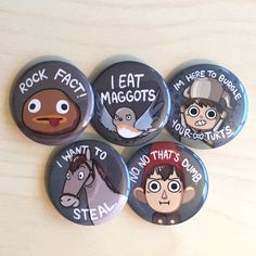Over the Garden Wall Pins