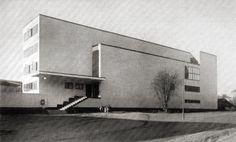 Student union building (Nymble), Stockholm Sven Markelius & Uno Ahrend, 1928-1930