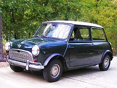 Austin Mini Super-Deluxe, 1963