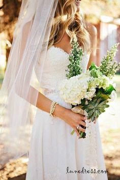 Wedding dress lace ,vintage