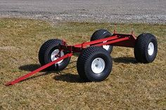 utility wagon running gear