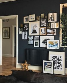 How to make a dark luxe gallery wall | King & McGaw