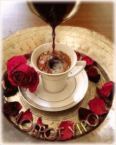 Good morning it's coffee time ~. Coffee Gif, Coffee Latte Art, I Love Coffee, Coffee Break, My Coffee, Coffee Images, Black Coffee, Good Morning Coffee, Good Morning Gif