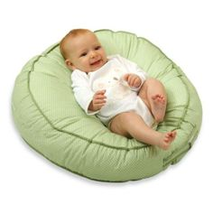 Buy Leachco Podster Sling-Style Infant Seat Lounger, Sage Pin Dot with big discount! Get Leachco Podster Sling-Style Infant Seat Lounger, Sage Pin Dot with worldwide shipping now! Breastfeeding Pillow, Pregnancy Pillow, Pregnancy Tips, Baby Center, Gifts For New Moms, Baby Registry, Baby Gear, Baby Items, Warm And Cozy