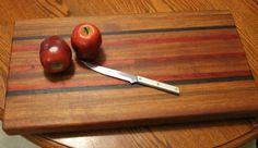 large Wooden Cutting board Handmade Chopping by dlightfuldesigns