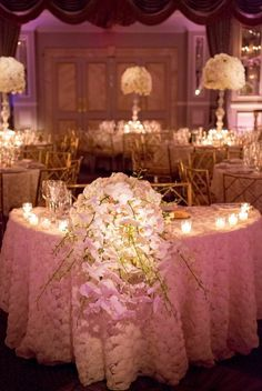 Now here's a wedding that even I would love to crash just to have had the experience to being in the same room as these gorgeous floral designs from Metro Floral Decorators. This ballroom glamour New York wedding is nothing but perfection — from the Marchesa wedding dress to the the rose-adorned wedding cake and the […]
