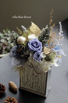 How to Plant Potted Flowers Outdoors in the Soil : Garden Space – Top Soop Artificial Flower Arrangements, Artificial Flowers, Floral Arrangements, Rose Thorns, Easter Table Decorations, How To Preserve Flowers, Flower Boxes, Colorful Flowers, Dried Flowers