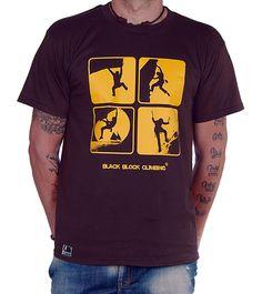 Camiseta Climbing World by Black Block Climbing http://www.blackblockclimbing.com/#!camisetas/c1yc2