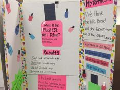 """The words """"Science Fair"""" can strike fear in the heart of parents, but here are over 75 Science Fair ideas to take the sting out of the project 2nd Grade Science Projects, Science Fair Board, Elementary Science Fair Projects, Science Fair Projects Boards, Science Boards, 7th Grade Science, Middle School Science, Science For Kids, School Projects"""