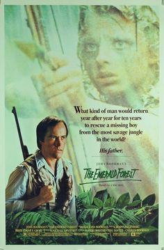 """La Selva Esmeralda"" (""The Emerald Forest"", 1985). Dir. John Boorman. Stars:  Powers Boothe, Meg Foster, Yara Vaneau. Set in Amazonas, Brazil."