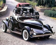 1931 Auburn Speedster & Cabriolet..Re-pin brought to you by agents of #CarInsurance at #HouseofInsurance in Eugene, Oregon.