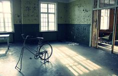 old abandined mental hospital in Lier, Norway