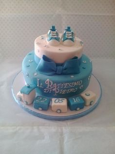 Battesimo  - Cake by Monica