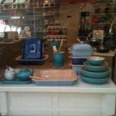 All blue wear from Le Creuset.