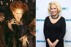 The Divine Miss Bette needs little introduction or explanation. She's still touring and living her best life. Fun tidbit: She said Hocus Pocus was her favorite film to work on. Take that, Beaches!