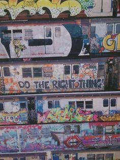 A collage of subway graffiti. Pera Muzesi, Istanbul. #graffiti