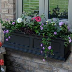 Mayne Inc. Fairfield Rectangular Window Box & Reviews   Wayfair