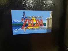 """Zelda: A Link to the Past Title Screen Magnet 5""""x3"""" by TheStickermart on Etsy https://www.etsy.com/listing/471220684/zelda-a-link-to-the-past-title-screen"""