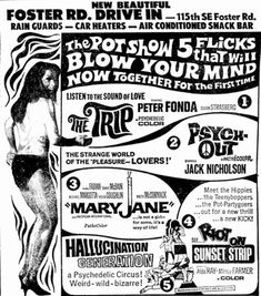 Foster Rd. Drive in ad.