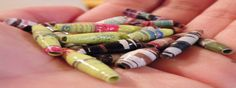 Paper Beads – How to make paper beads