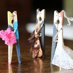 Kissing Clothes Pin Couples   Lilyshop Blog by Jessie Jane featured on DETAILS http://carolynsdetails.blogspot.com/