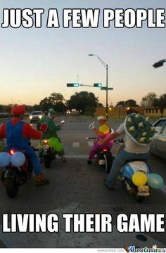 Gotta Love Mario!  Its Like Living A Dream
