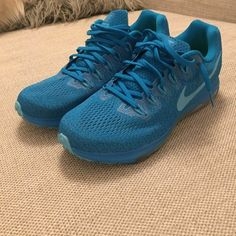 best service e8e3a cca20 Mens Nike Zoom All Out Low- Blue Orbit Blue Fury Polarized Blue 878670