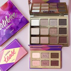 Our #tartelette2 and tartelette tease, the 2️⃣ palettes that will always come in clutch!  #tartecosmetics #rethinknatural