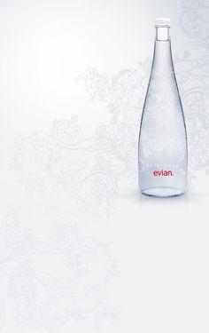 evian 2014 edition Designed by Elie Saab