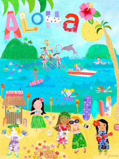 Aloha Canvas Art