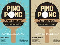 "Ping Pong Flyer Template:   Ping Pong Flyer Template is very modern psd flyer that will give the perfect promotion for your upcoming event Or table tennis tournament! All elements are in separate layers and text is editable! 1 PSD file  A5 (5.8""x8.3"") size with 0.3mm bleed  GET IT HERE: http://ift.tt/2DbdmCJ"