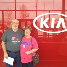 Thank you Jerry and Shannon for coming to Lawrence Kia for your 2016 Kia Sorento! - C. Pena