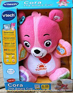 VTech Cora the Smart Cub™ + Giveaway