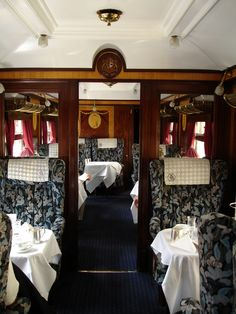 Orient Express train. Definitely a luxury experience. For more information: ASPEN CREEK TRAVEL - karen@aspencreektravel.com