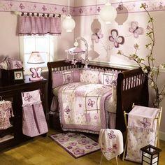 CoCaLo Baby-Sugar Plum 6-Piece Crib Bedding Set